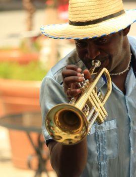 Havana Trumpet player
