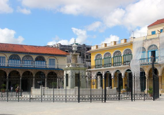 Visit Havana's historic squares on a Walking Tour of Old Havana