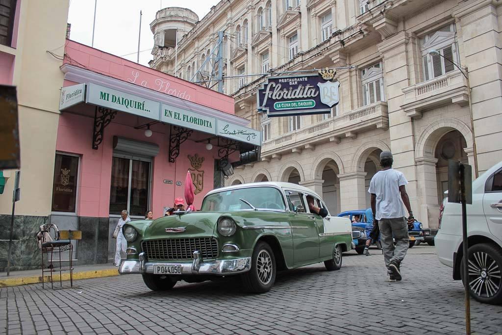 Best daiqurí bar in Cuba: Floridita