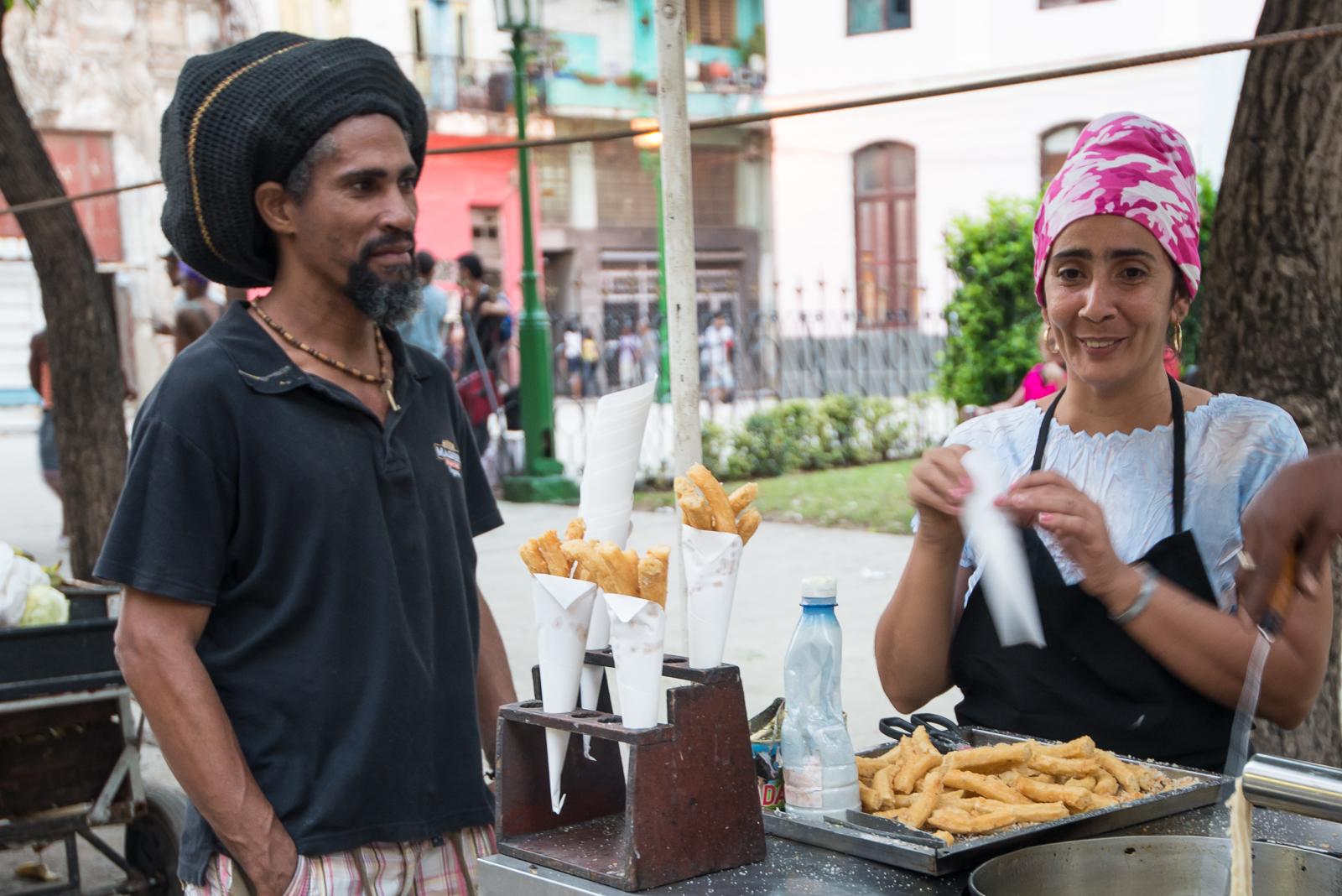 Rastafarian churros