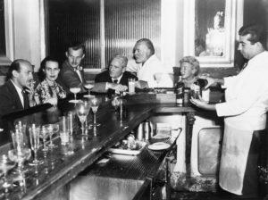 Hemingway loved to visit La Bodeguita del Medio bar in Old Havana