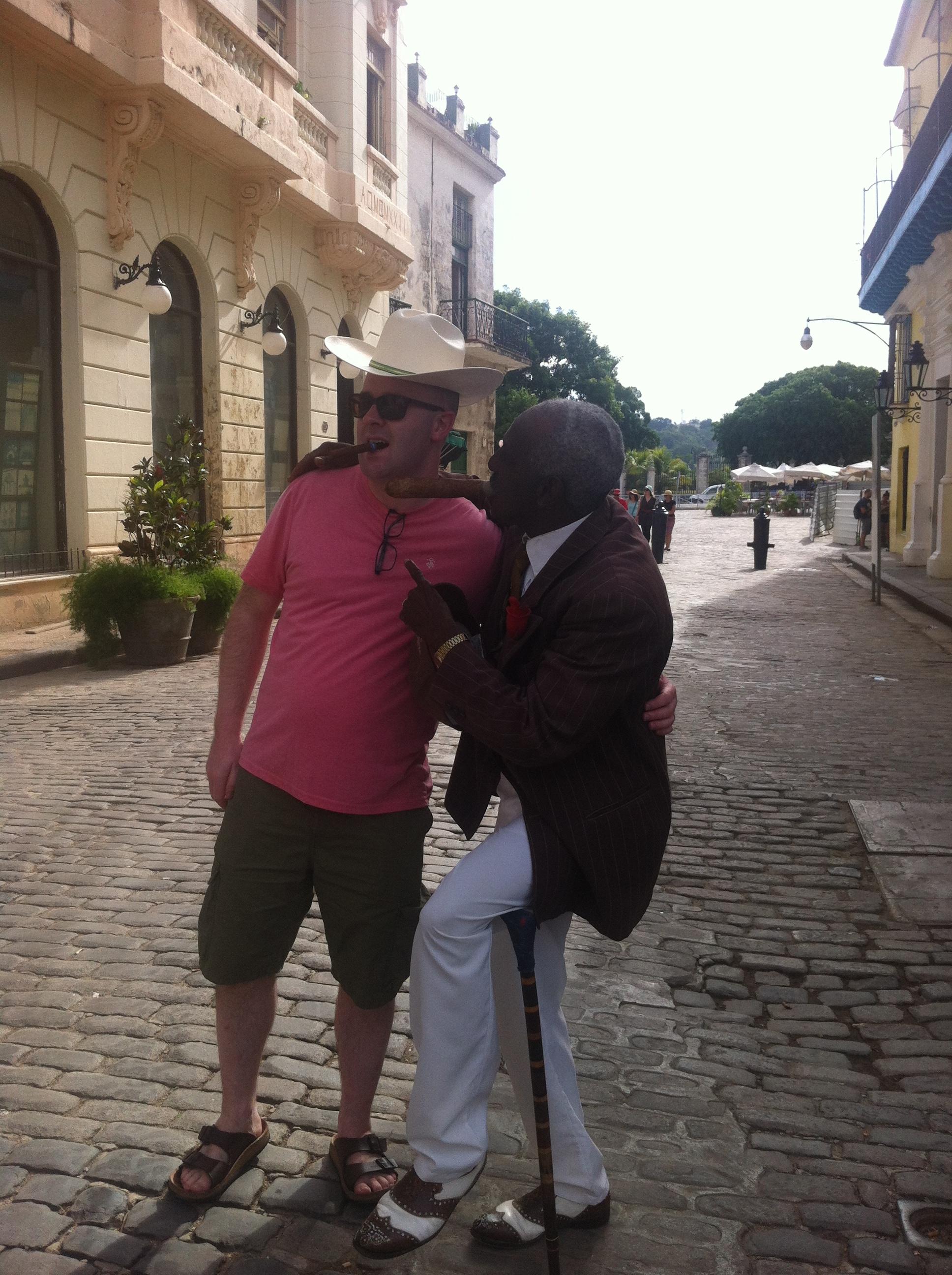 Havana street characters