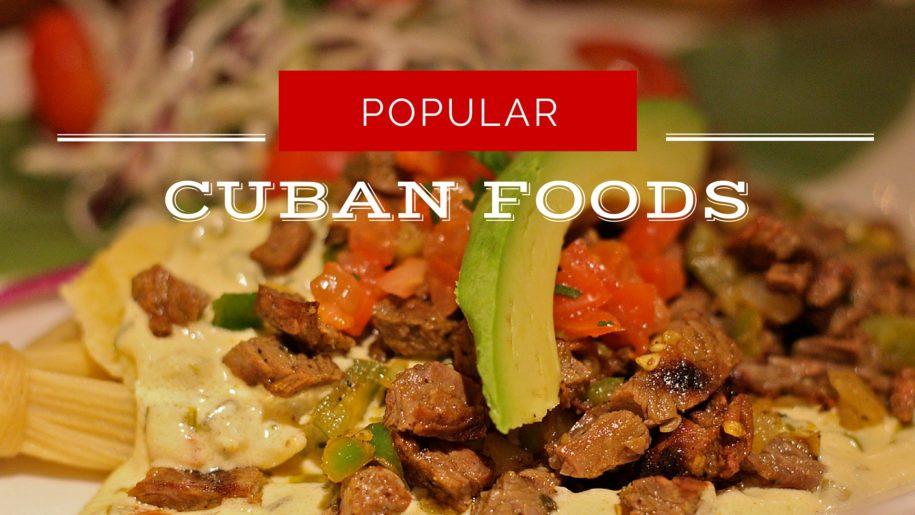 popular cuban food