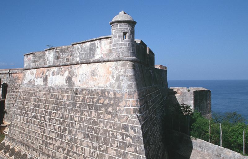 top of morro castle in cuba