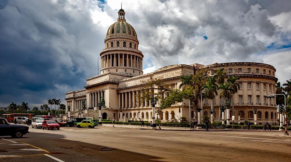 Landmark Cuba Architecture Capitol Building Havana