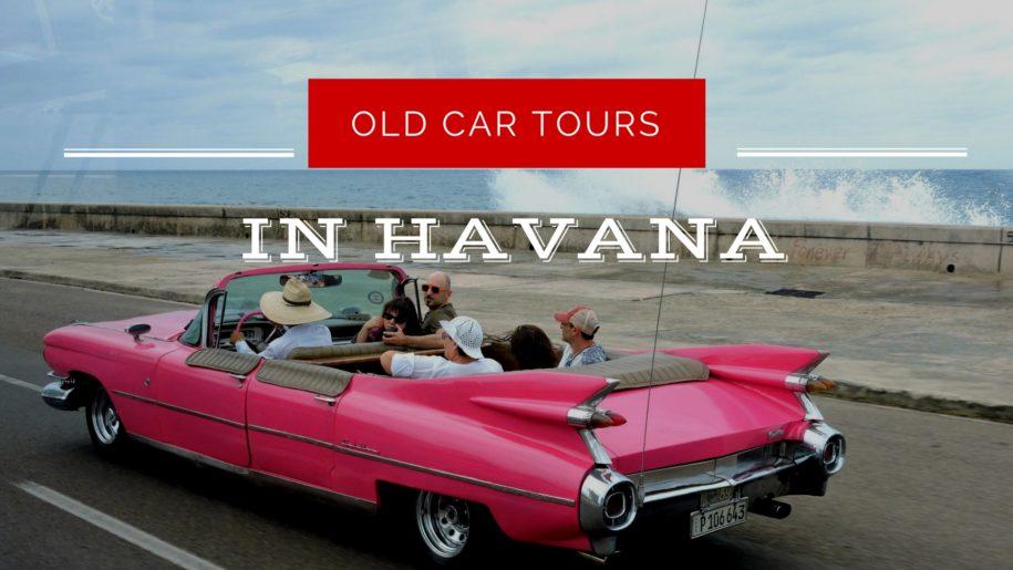 old car tours in Havana