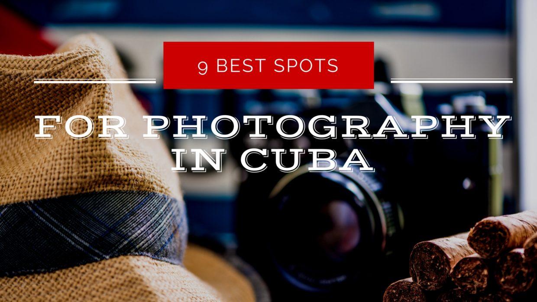 photography in cuba